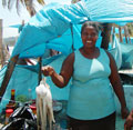 Market lady - Dominican Republic